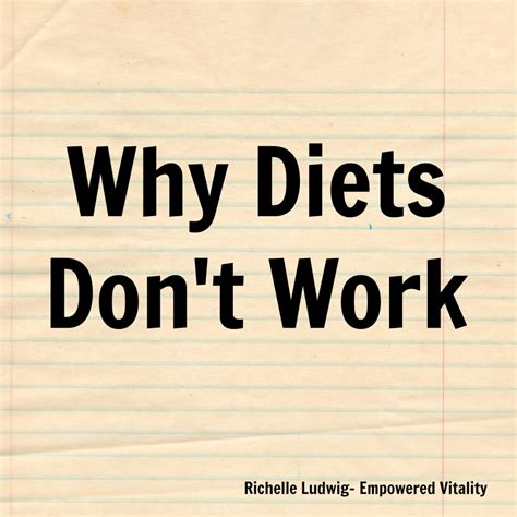 Why Detoxes Dont Work by Why Diets Don T Work Food Freedom Coach Edmonton