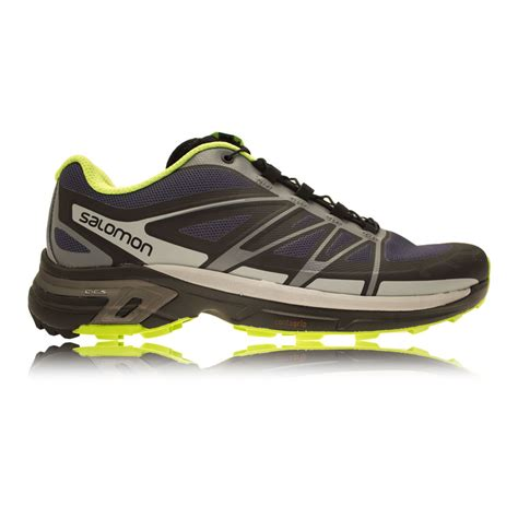 running shoes with wings salomon wings pro 2 trail running shoes aw16 40