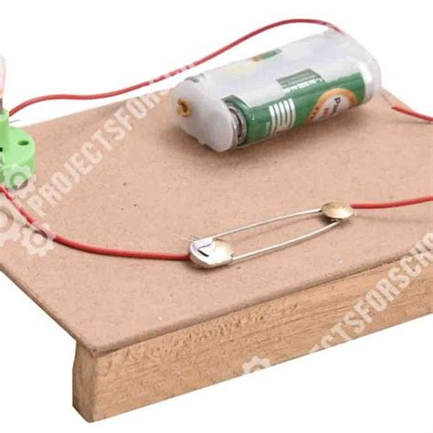 science projects how to make simple electric switch