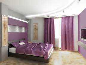Bedroom Design Purple And Gray Dormitorios Morados Violetas Y Lilas Dormitorios
