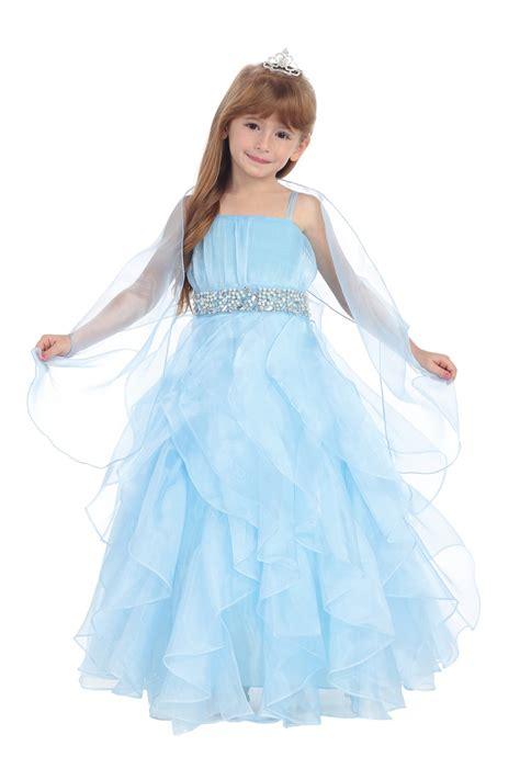 baby blue baby dress baby blue organza ruffled skirt flower dress
