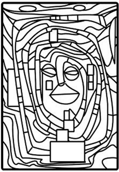 hundertwasser colouring book colouring 3791341138 hundertwasser hundertwasser art project for kids f 228 rben bilder und wordpress