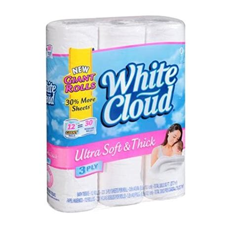 White Cloud Bathroom Tissue by White Cloud Bath Tissue Toilet Paper Ultra Soft And Thick