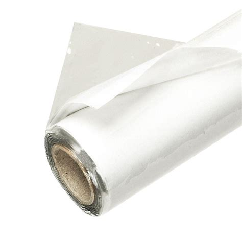 clear printable vinyl roll frost king e o 48 in x 25 ft crystal clear plastic vinyl