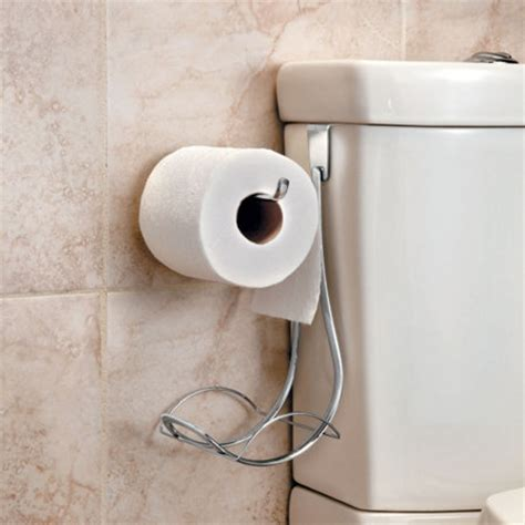 Clever Toilet Paper Holders by Over Tank Toilet Paper Holder
