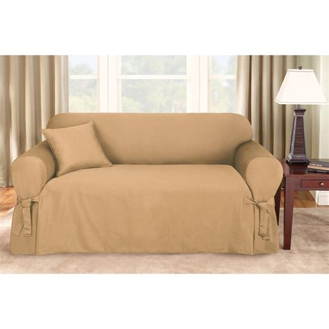 sure fit sectional cover sure fit 174 logan sofa slipcover 292830 furniture covers
