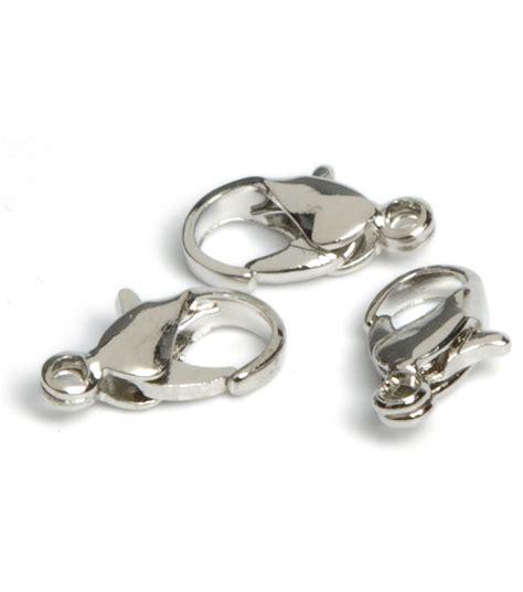 Lobster Pk jewelry basics lobster claw 7mmx9mm 24 pk silver jo