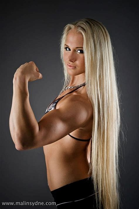 Female Fitness And Bodybuilding Beauties Sarah Backman Swedish Armwrestling Champion