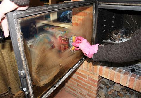 como limpiar cristal chimenea como limpiar el cristal de la chimenea o estufa recetas