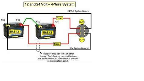 24 volt battery wiring diagram solved wiring diagram for 12 24 volt system fixya