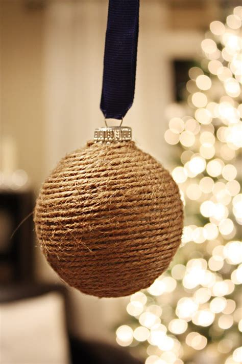 25 best handmade christmas ornaments construction