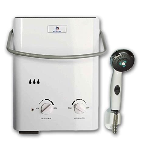 Eccotemp L5 Portable Tankless Water Heater And Outdoor Shower by Eccotemp L5 Portable Tankless Water Heater And Outdoor