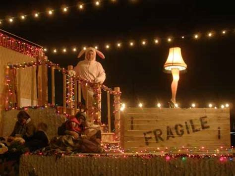 themes in a christmas story we like her our christmas parade float the beginning