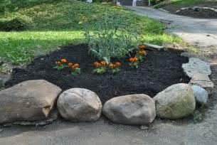 Landscape Rock Around Trees Garden Design 57164 Garden Inspiration Ideas