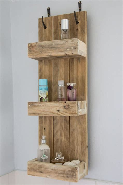 etagere bathroom rustic bathroom shelves made from reclaimed pallet wood