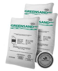 Cartridge Manganese Greensand Plus greensandplus iron and odor filtration media for well water