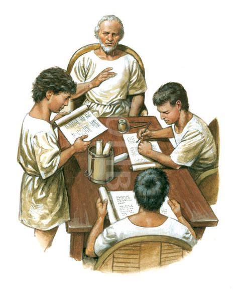 the in rome in the masters of rome and pupils