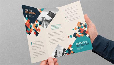 desain brosur yang keren 10 contoh desain brosur keren dan elegant