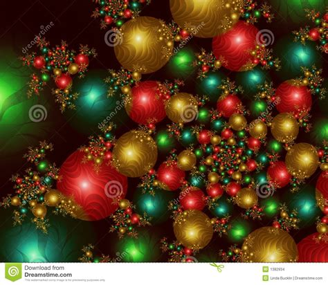 Superb Large Christmas Bulbs #3: Infinite-christmas-balls-fractal-image-1382934.jpg