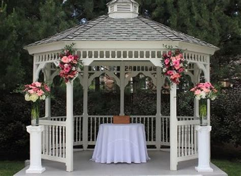 How To Decorate A Pergola For A Wedding by 25 Best Ideas About Gazebo Wedding Decorations On