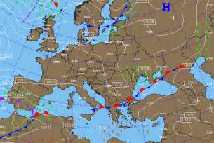 Europe Weather Map by Aviation Weather Maps