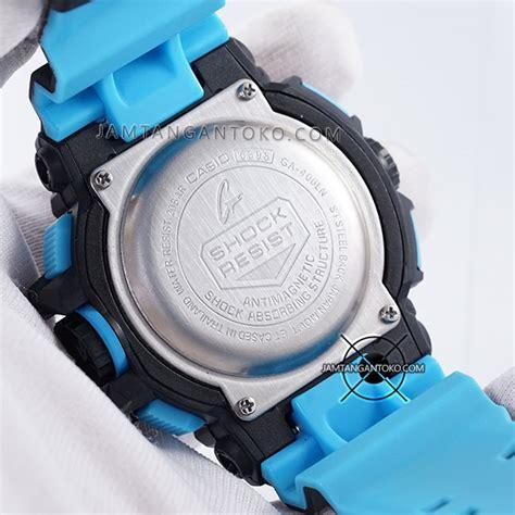 G Shock Black Blue Murah harga sarap jam tangan g shock ga 400ln 1a black blue
