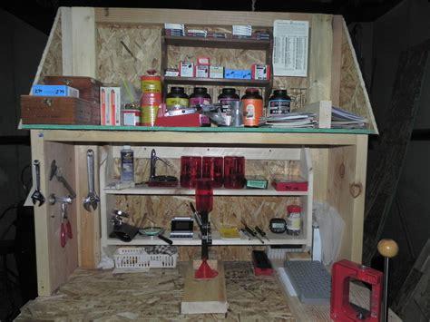 tips fresh ideas  reloading bench  garage