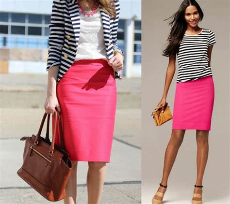Skirt And Blouse Combinations by Pencil Skirt To Office Color Combinations And Tips