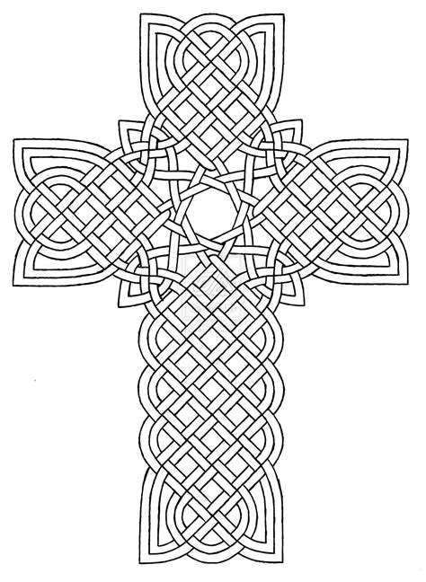 detailed coloring pages pdf 10 pics of detailed cross coloring pages easter cross