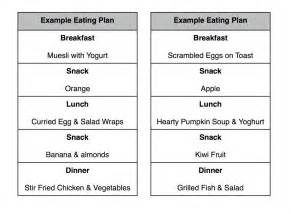 weight loss plan for the healthy hub