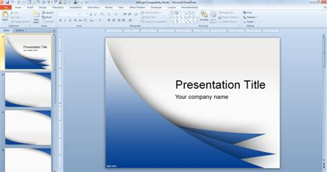 free template powerpoint 2007 templates of powerpoint presentation free