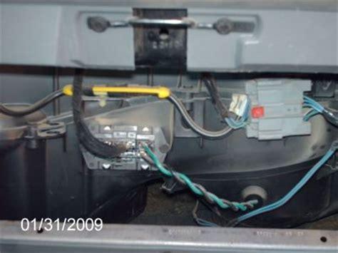 blower motor resistor for 2005 dodge caravan 2005 dodge caravan blower motor heater problem 2005 dodge caravan