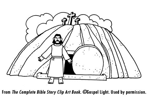 coloring pages jesus death and resurrection burial and resurrection of jesus mission bible class