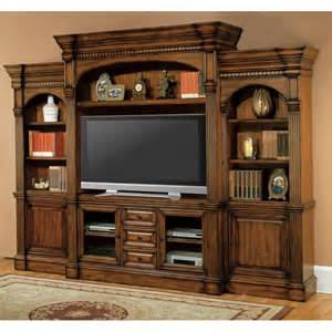Parker house genoa estate wall entertainment center at hayneedle