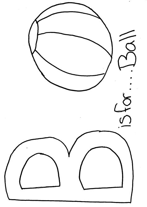 Geography Blog Letter B Coloring Pages B For Coloring Page