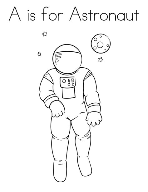astronaut on the moon coloring pages page 4 pics about