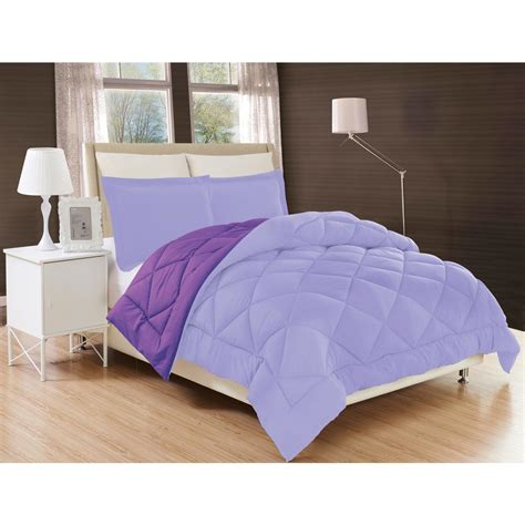 purple twin xl comforter elegant comfort down alternative lilac and purple