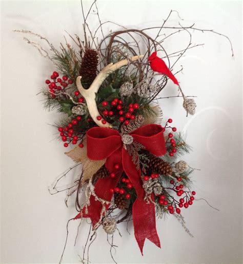 christmas wreath winter wreath christmas door hanging