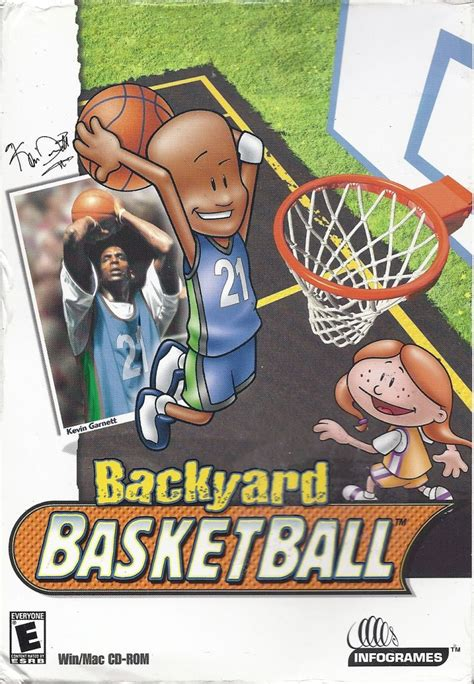 backyard basketball video game backyard basketball for windows 2001 mobygames