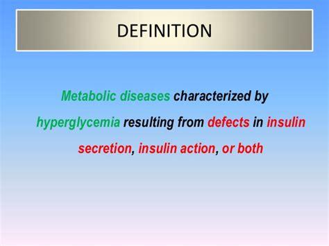 Definition For Diabetes Mellitus Definition Classification Clinical