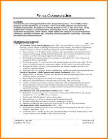 Resume Objective Business by 8 Resume Business Objective Bid Template