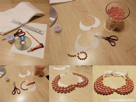 diy fashion craft ideas 21 diy collar necklace ideas