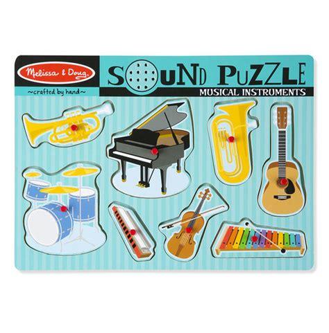 Sound Puzzle Doug musical instruments sound puzzle 8 pieces doug