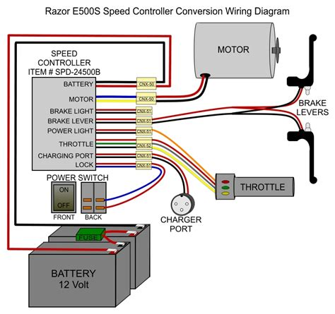 electric vehicle wiring diagram electric schematic
