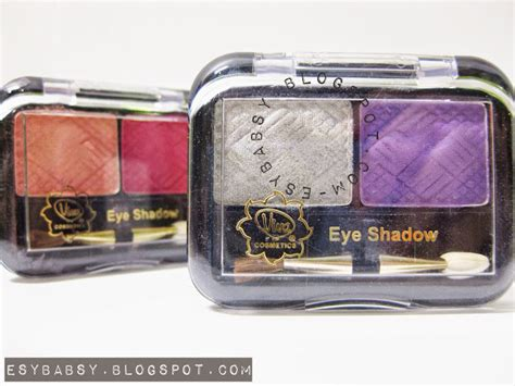 Eyeshadow Viva Seri A lunatic vixen review viva eye shadow no 05 no 07