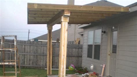 build a patio awning amazing building a roof over a patio design aluminum