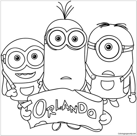 minion pumpkin coloring pages pumpkin contest minion coloring pages
