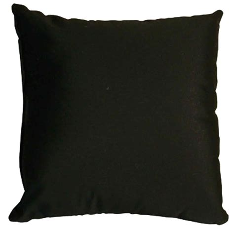 Black Throw Pillow by Black Sunbrella Outdoor Throw Pillow Dfohome