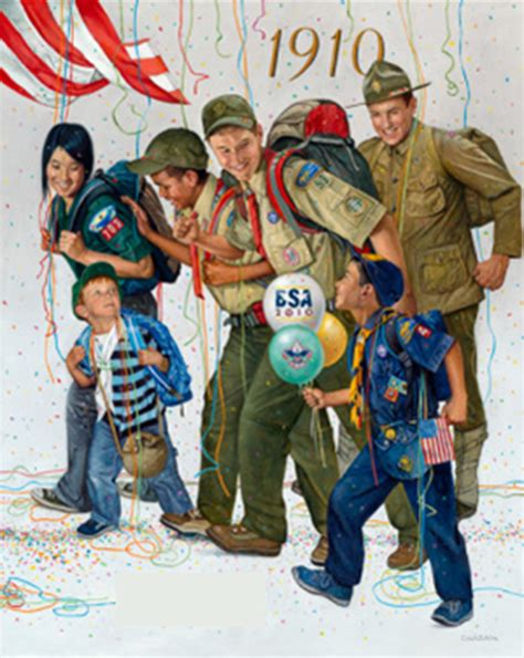 boy scounts of america who woulda thought happy birthday boy scouts of america