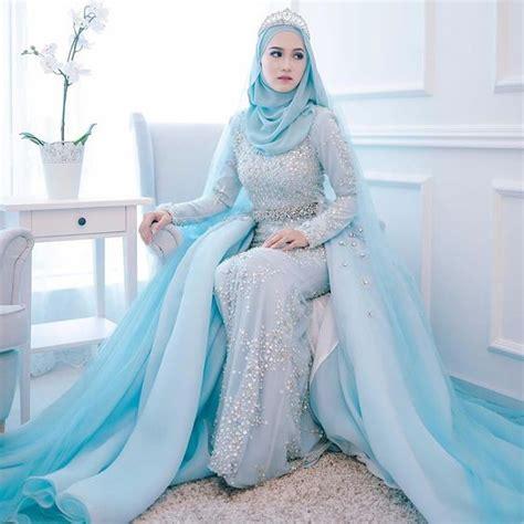Hs246 Putih Gaun Pernikahan 2017 Wedding Dress Baju Pengantin Ballgown top engagement with for muslim style fashion ideas